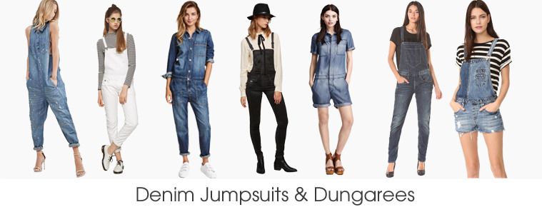 Denim Jumpsuits
