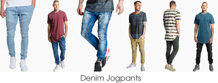 Denim Jogpants