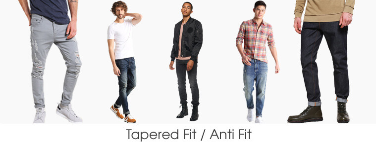 Tapered Fit / Anti Fit