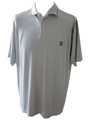 Twin Life - mens AJAX vintage 3button polo shirt, made...