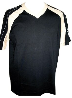 55DSL - Mens ELGATO Graphic V-Neck T-Shirt, made 1995 -...