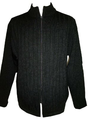 Old Schools - Mens NO ONE Wool Cardigan, made 2000 -...
