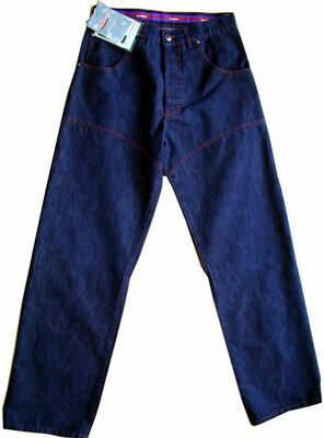 Old School - Mens DJ RED LINE Worker Jeans, made 2000 -...