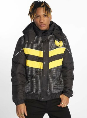 Wu-Tang - Mens PUFFER Quilted Jacket BLACK XS