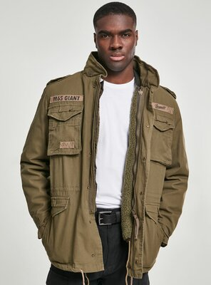 Brandit - Mens M65 GIANT Fieldjacket OLIVE M