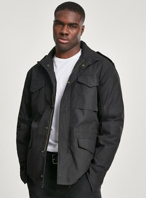 Brandit - Mens M65 CLASSIC Fieldjacket BLACK XL