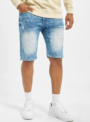 Southpole - Mens BASIC Denim Shorts LIGHT SAND BLUE W36