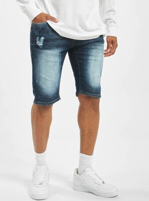 Southpole - Mens BASIC Denim Shorts DARK SAND BLUE W34