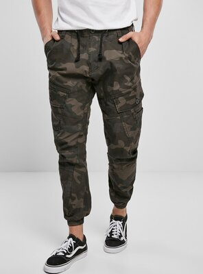 Brandit - Mens RAY Vintage Cargo Trousers DARK CAMO 3XL