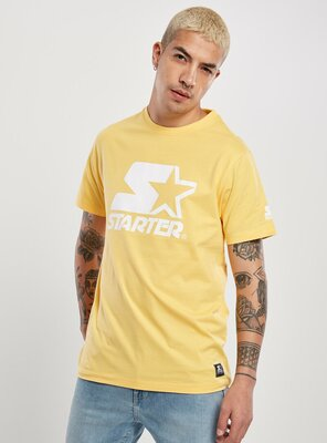 Starter - Mens LOGO T-Shirt BUFF YELLOW S