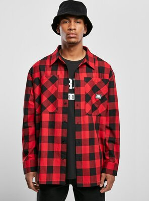 Southpole - Mens CHECK Flannel Shirt RED S