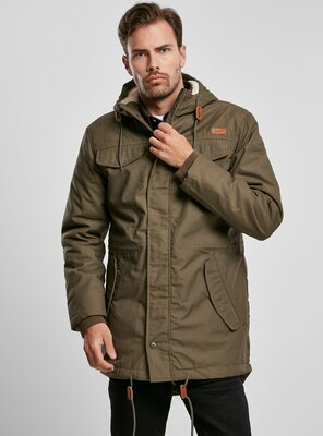 Brandit - Mens Marsh Lake Parka OLIVE S