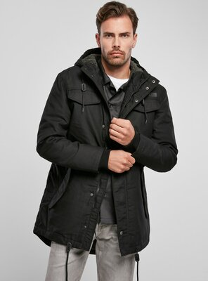 Brandit - Mens Marsh Lake Parka BLACK S
