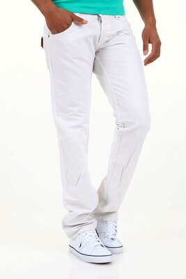 Absolut Joy - Mens GIBO Destroyed Straight Leg Pants -...