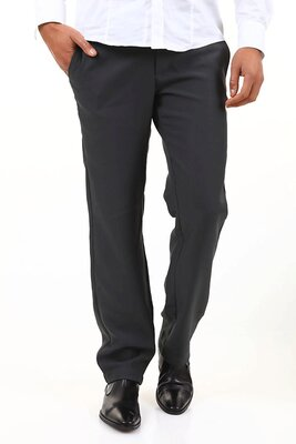 Absolut Joy - mens BREDLEY Classic Slim Fit Pants - BLACK...