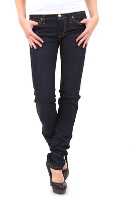 Sexy Women - damen SWP4043 5pocket zipper slim fit jeans...