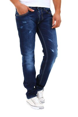 Denim Republic - herren 3265-3899 handveredelte destroy...