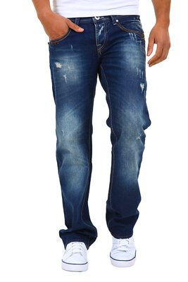 Denim Republic - mens 3180-3900 hand finishing slim fit...