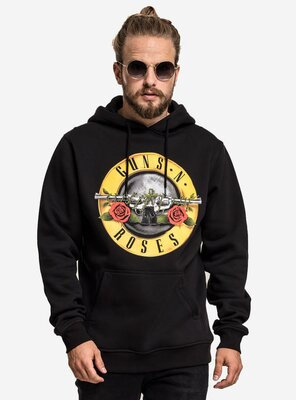 Merchcode - Mens Guns N Roses Hoodie BLACK XXL